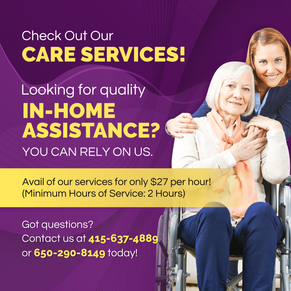 Check Out Our CARE SERVICES