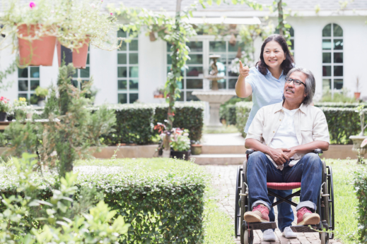 Pushing a Wheelchair: Quick Guide for Family Caregivers